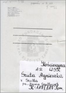 Szuta Agnieszka