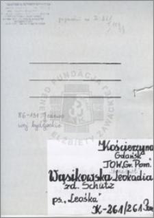 Wąsikowska Leokadia