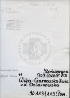 Wika Czarnowska Maria