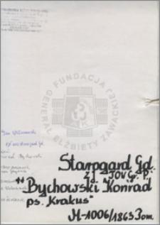 Bychowski Konrad