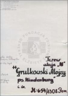 Grulkowski Alojzy