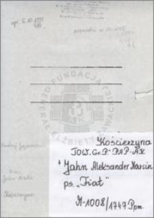Jahn Aleksander Marcin