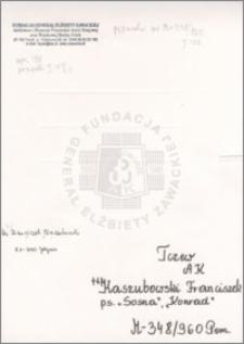 Kaszubowski Franciszek