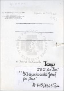 Klawikowski Józef