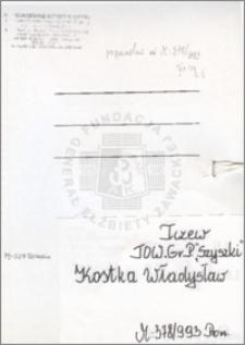 Kostka Władysław