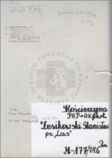 Lesikowski Stanisław