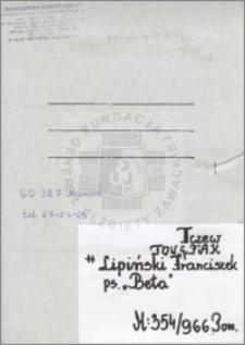 Lipiński Franciszek