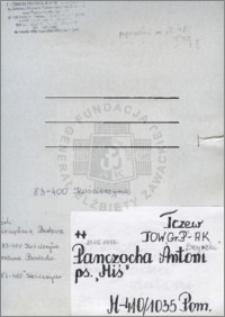 Panczocha Antoni