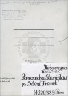 Panczocha Stanisław