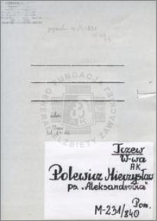 Polewicz Mieczysław