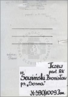 Sowiński Bronisław