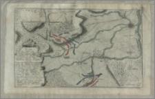 Plan der Action bey Eimbeck den 14 August Ao 1761 zwischen einen Französischen Corps unter Comando des Vicomte de Belsunce und einen ALLürten unter Befehldas GeneraL von Luckner