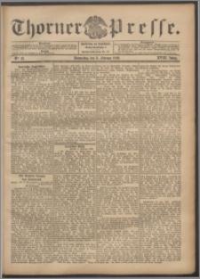 Thorner Presse 1900, Jg. XVIII, Nr. 32 + Beilage