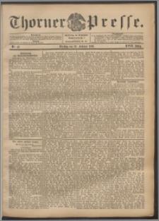 Thorner Presse 1900, Jg. XVIII, Nr. 42 + Beilage