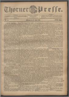Thorner Presse 1900, Jg. XVIII, Nr. 85 + Beilage