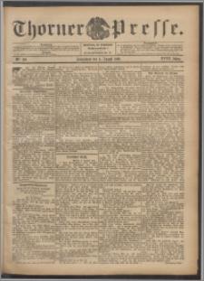 Thorner Presse 1900, Jg. XVIII, Nr. 180 + Beilage