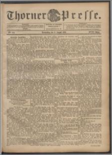 Thorner Presse 1900, Jg. XVIII, Nr. 184 + Beilage