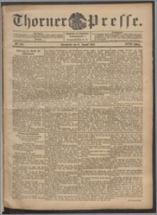 Thorner Presse 1900, Jg. XVIII, Nr. 186 + Beilage