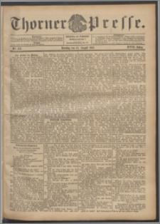 Thorner Presse 1900, Jg. XVIII, Nr. 188 + Beilage