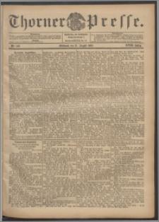 Thorner Presse 1900, Jg. XVIII, Nr. 189 + Beilage