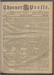 Thorner Presse 1900, Jg. XVIII, Nr. 192 + Beilage