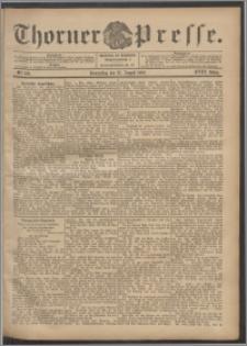Thorner Presse 1900, Jg. XVIII, Nr. 196 + Beilage, Extrablatt