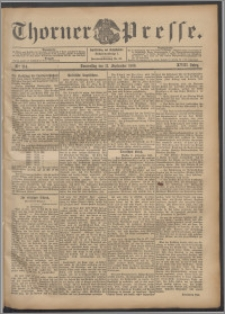 Thorner Presse 1900, Jg. XVIII, Nr. 214 + Beilage