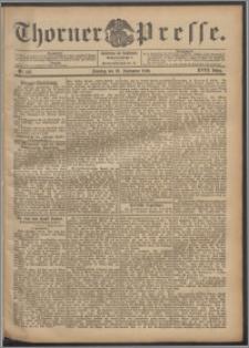 Thorner Presse 1900, Jg. XVIII, Nr. 223 + 1. Beilage, 2. Beilage