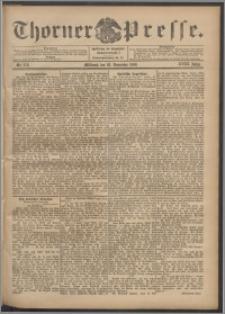 Thorner Presse 1900, Jg. XVIII, Nr. 278 + Beilage