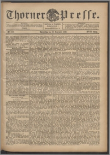 Thorner Presse 1900, Jg. XVIII, Nr. 279 + Beilage