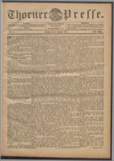 Thorner Presse 1901, Jg. XIX, Nr. 3 + Beilage