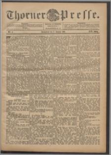 Thorner Presse 1901, Jg. XIX, Nr. 4 + Beilage, Beilagenwerbung