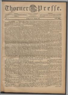 Thorner Presse 1901, Jg. XIX, Nr. 9 + Beilage
