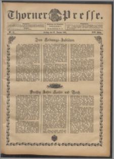 Thorner Presse 1901, Jg. XIX, Nr. 15 + Beilage