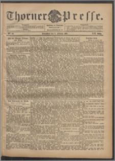 Thorner Presse 1901, Jg. XIX, Nr. 28 + Beilage