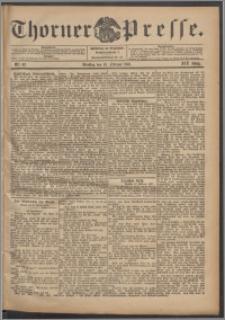 Thorner Presse 1901, Jg. XIX, Nr. 42 + Beilage