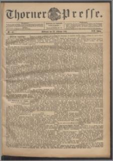 Thorner Presse 1901, Jg. XIX, Nr. 43 + Beilage