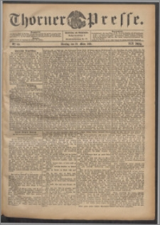 Thorner Presse 1901, Jg. XIX, Nr. 66 + Beilage, Beilagenwerbung