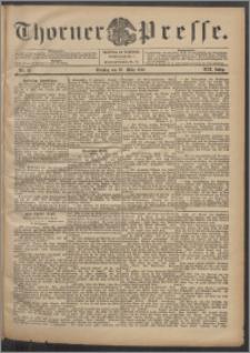 Thorner Presse 1901, Jg. XIX, Nr. 72 + Beilage