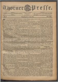Thorner Presse 1901, Jg. XIX, Nr. 80 + Beilage