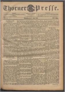 Thorner Presse 1901, Jg. XIX, Nr. 84 + Beilage
