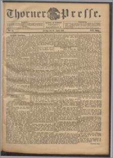 Thorner Presse 1901, Jg. XIX, Nr. 85 + Beilage