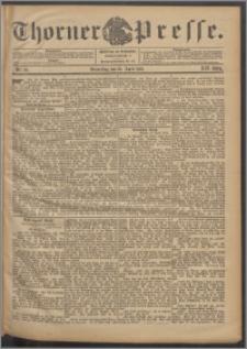 Thorner Presse 1901, Jg. XIX, Nr. 96 + Beilage