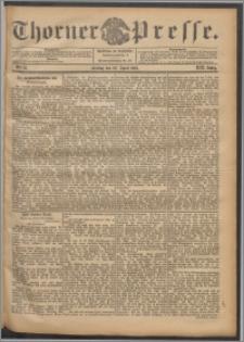 Thorner Presse 1901, Jg. XIX, Nr. 97 + Beilage