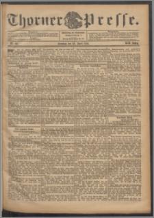 Thorner Presse 1901, Jg. XIX, Nr. 99 + 1. Beilage, 2. Beilage