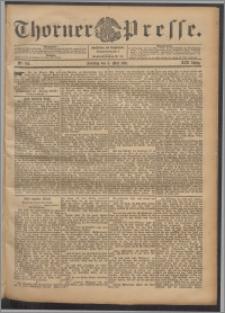 Thorner Presse 1901, Jg. XIX, Nr. 105 + 1. Beilage, 2. Beilage