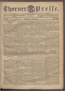 Thorner Presse 1901, Jg. XIX, Nr. 182 + Beilage