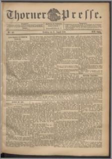 Thorner Presse 1901, Jg. XIX, Nr. 187 + 1. Beilage, 2. Beilage