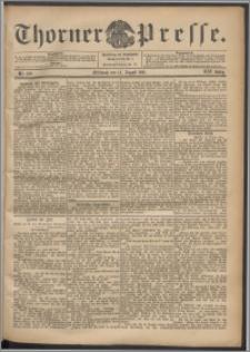 Thorner Presse 1901, Jg. XIX, Nr. 189 + Beilage
