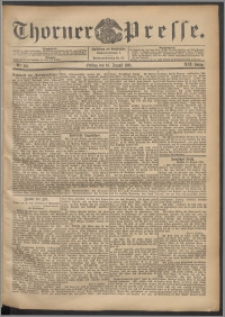 Thorner Presse 1901, Jg. XIX, Nr. 191 + Beilage